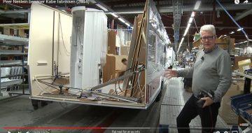 Peer Neslein besøger Kabe fabrikken