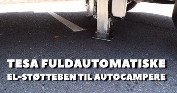 TESA fuldautomatiske støtteben til autocampere