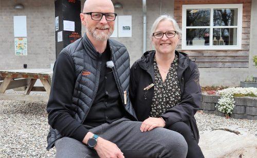 Peer Neslein besøger Auning Camping – kendt som Djurslands perle