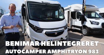 Benimar Amphitryon 983 helintegreret autocamper 2022 model
