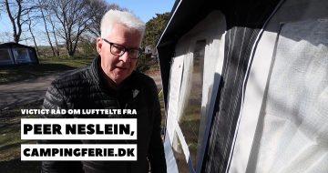 Vigtigt råd om lufttelte fra Peer Neslein