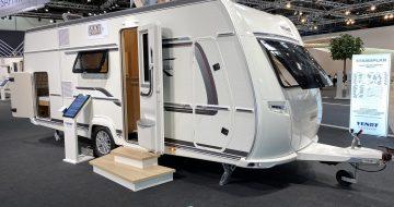 Caravan Salon Düsseldorf - del 5 - Fendt Opal 515 SKF - familievogn (2022)