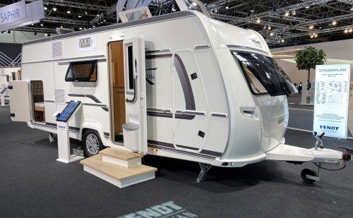 Caravan Salon Düsseldorf – del 5 – Fendt Opal 515 SKF – familievogn (2022)