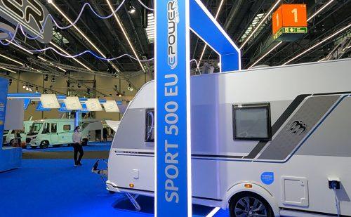Caravan Salon Düsseldorf – del 6 – Knaus campingvogn uden gas (2022)