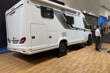 Caravan Salon Düsseldorf – del 4 – Knaus e-Power Drive autocamper (2022)